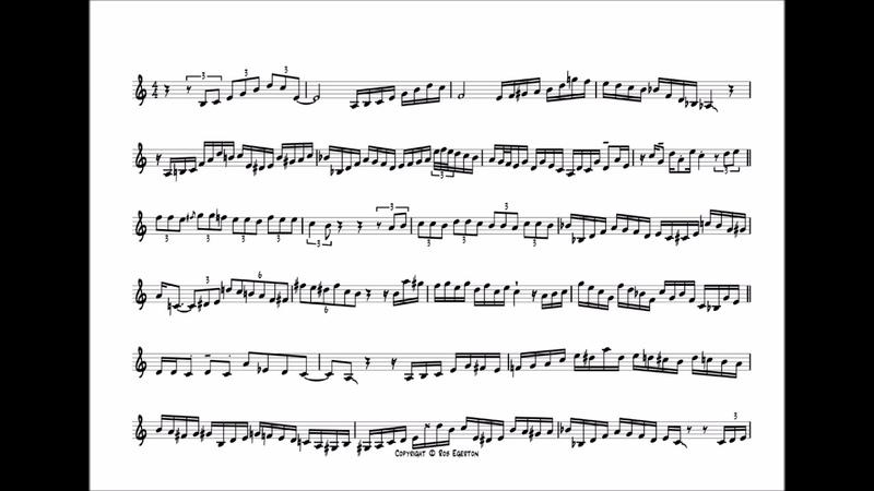 Arturo Sandoval 'Claudia' Flugel Solo Transcription