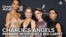Charlie s Angels Premiere Interviews Red Carpet Extra Butter
