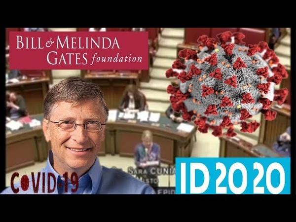 Deputada quer Bill Gates preso por crimes contra a humanidade ID2020 Coronavirus vacinas covid19