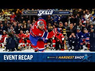 Enterprise nhl hardest shot recap