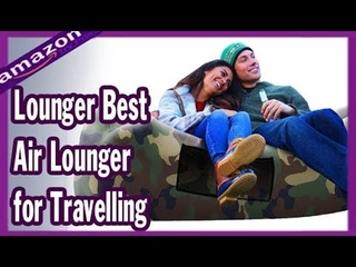 AlphaBeing Inflatable Lounger Best Air Lounger for Travelling, - EASY INFLATION DESIGN