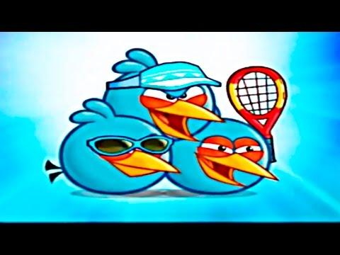 Angry Birds Figh Открыли Синюю Троицу и Выиграли лабораторию свина. Продолжение следует...