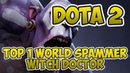 Top 1 World Witch Doctor Spammer [4200 Matches] [Dota 2] [7.22h] [處楠] [Gameplay]