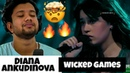 Singer First time Reacts to Diana Ankudinova - Wicked Games l what did i just witness