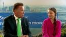 Interview mit Arnold Schwarzenegger und Greta Thunberg