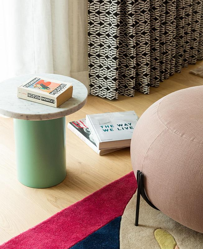 Agnes Rudzite Interiors: эклектичная квартира в центре Риги || 02
