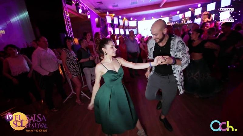 Isaia Leoni Sveta Levchenko - social dancing @ EL SOL WARSAW SALSA FESTIVAL 2019