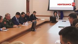 Оперативное совещание в администрации