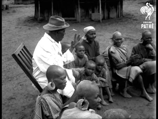 Kenya's Oldest Chief At Home Aberdare Village 1967