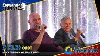 X-Files Stars Mitch Pileggi & William B Davis - London Comic Con 2019 Q&A Panel