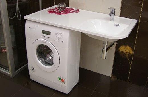 Установка стиральной машины. 5 идей