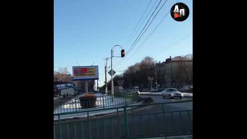 Сбой светофоров на 50 лет Октября - Саранск
