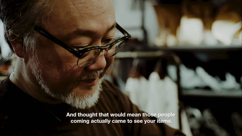Watch Keizo Shimizu Talk Nepenthes, Needles, Engineered Garments and more.