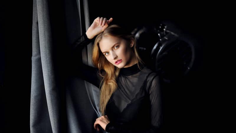 Backstage со съемок Модель Анна Фростова Видео Dennis Priest Лофт пространство Наше место