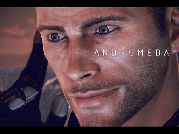Supar secret shepard cameo Mass Effect Andromeda
