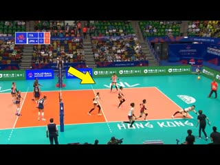 Does japan have the best defense in the world ! crazy volleyball actions (hd)