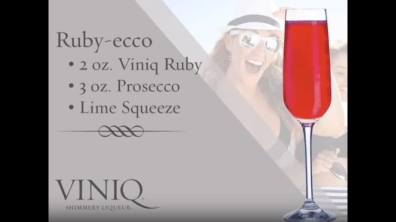 Коктейли с мерцающим ликёром Виник Prime Drink алкогольные напитки 2