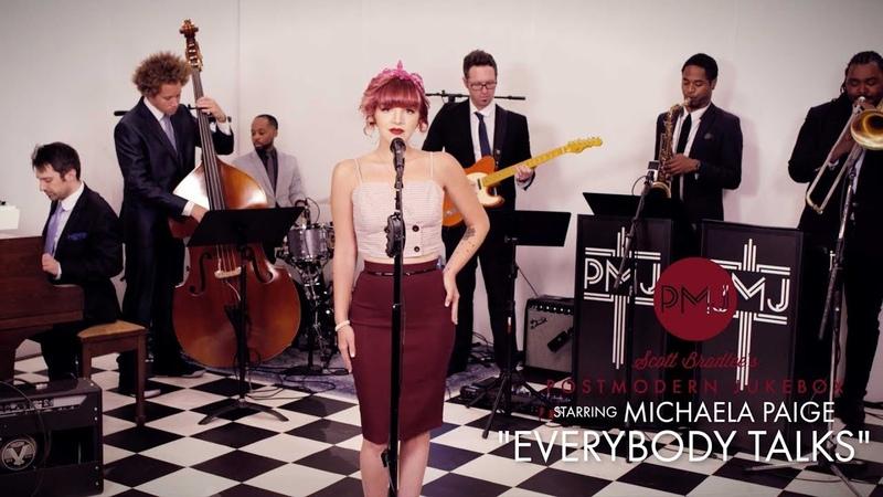 Everybody Talks Neon Trees Vintage Otis Redding Style Cover ft Michaela Paige
