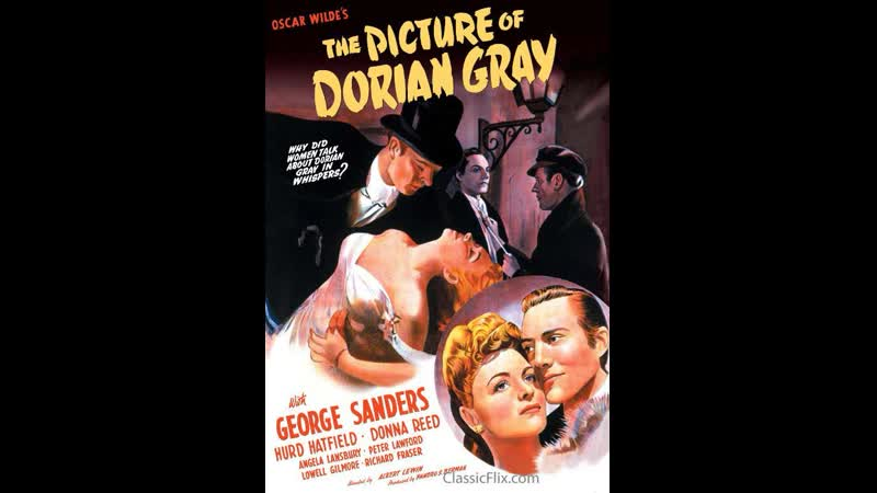 El Retrato de Dorian Gray (1945) Esp, Cast