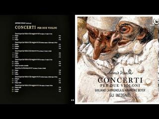 Vivaldi: Concerti per due violini  (Giuliano Carmignola, Amandine Beyer, Gli incogniti)