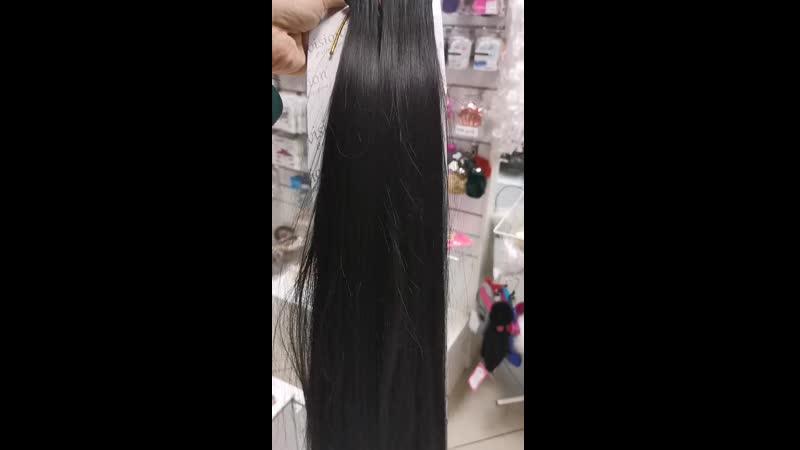 Волосы на заколках из канекалона 5 прядей цвет 2