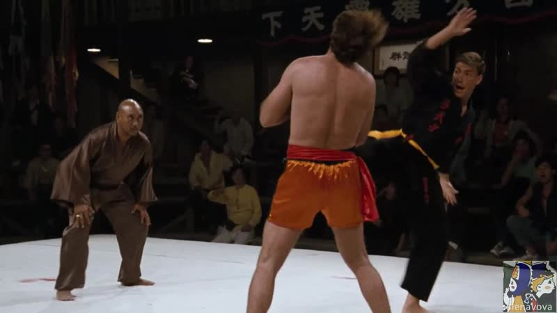 Stan Bush Fight To Survive Bloodsport 1988 Клипы нарезки из западных кинофильмов нарезка by alenavova