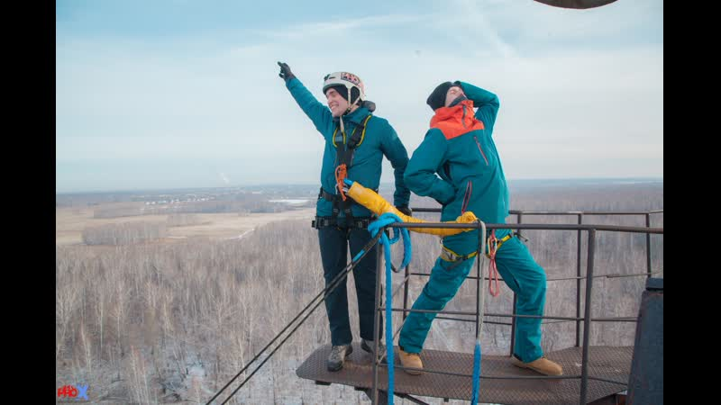 Andrey Sh. прыжок FreeFallProX команда ProX74 объект AT53 Chelyabinsk 2019 1 jump RopeJumping