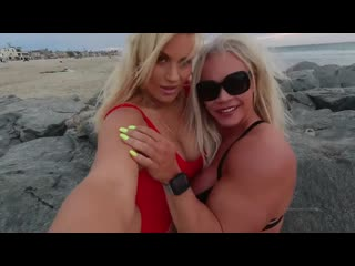 ALEESHA YOUNG AND SYDNEY THUNDER