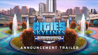Cities: Skylines Campus Expansion | Coming May 21st | Announcement Trailer