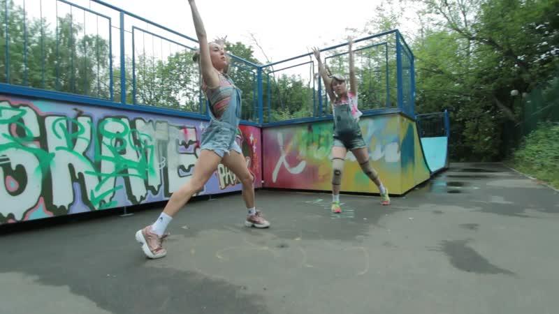Анна Мерзликина и ученица Екатерина Алябьева