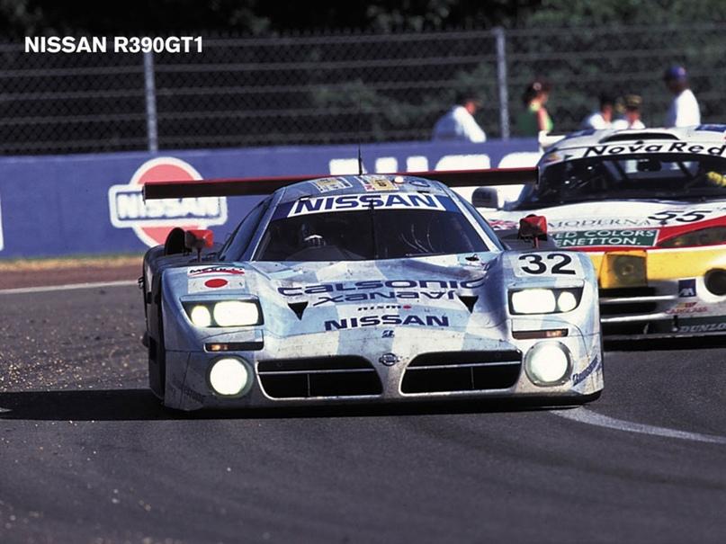 История суперкара Nissan R390 GT1, изображение №5
