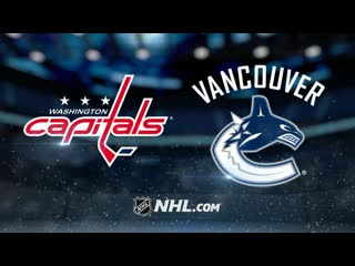 Washington capitals vs vancouver canucks | oct.25, 2019 | game highlights | nhl 2019/20 | обзор матча