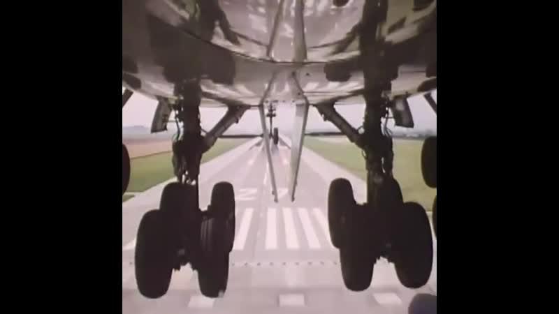 Просто посадка Боинг 747