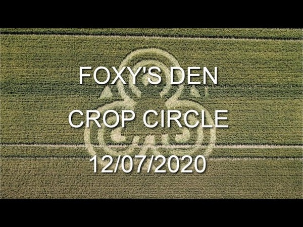 Crop Circle Foxy's Den Frome Somerset Reported 12 07 20