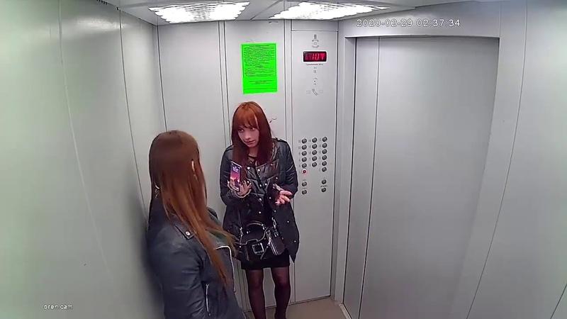 Вандалы из Оренбурга изгадили лифт Работница полиции и арбитражного суда