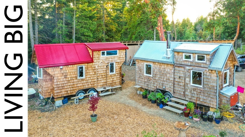 Growing Family Builds Second Tiny Home For Expanding Homestead (Revisited) || Living Big In A Tiny House