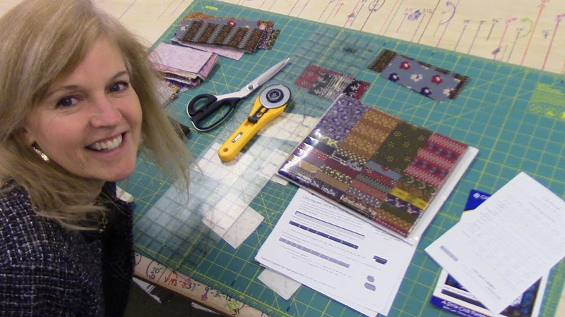 Daybreak Quilt Pattern using a Strip Set | LetsMake Quilting Tutorial