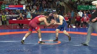 WMC-18. FS 86. Final. Kanan ALIYEV (AZE) - Magomed RAMAZANOV (RUS)