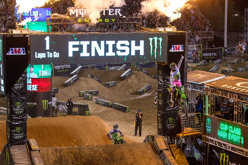 Результаты Monster Energy Cup 2019
