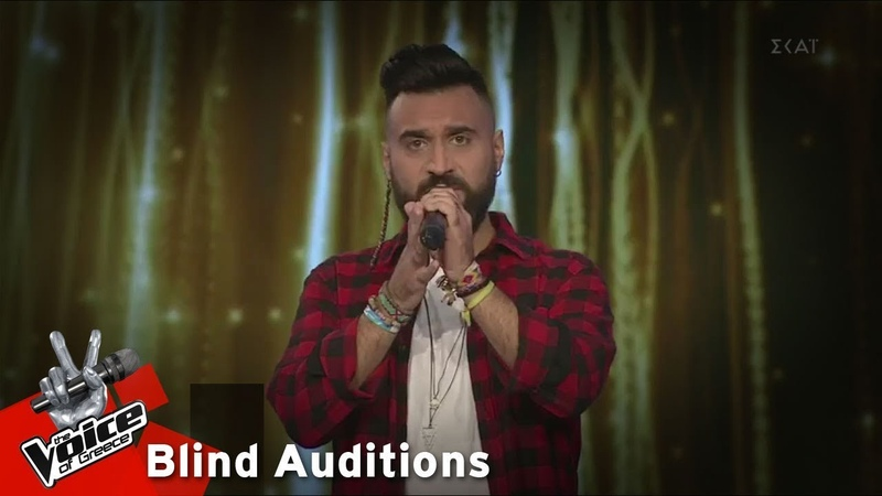 Θάνος Νικολόπουλος Gethsemane I Only Want To Say 12o Blind Audition The Voice of Greece