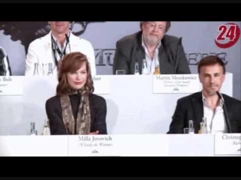 Пресс конференция трех мушкетеров в Мюнхене