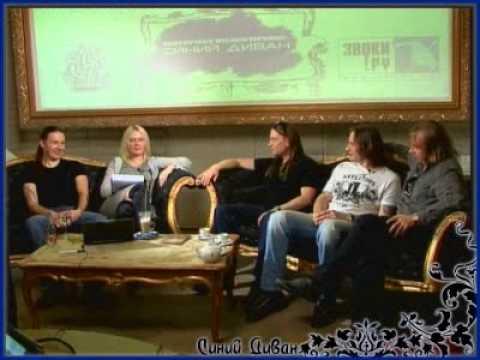 Кипелов в программе 'Синий Диван' 2008.06.13