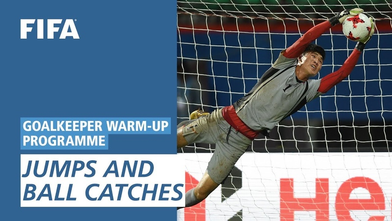 Jumps And Ball Catches [Goalkeeper Warm-Up Programme]