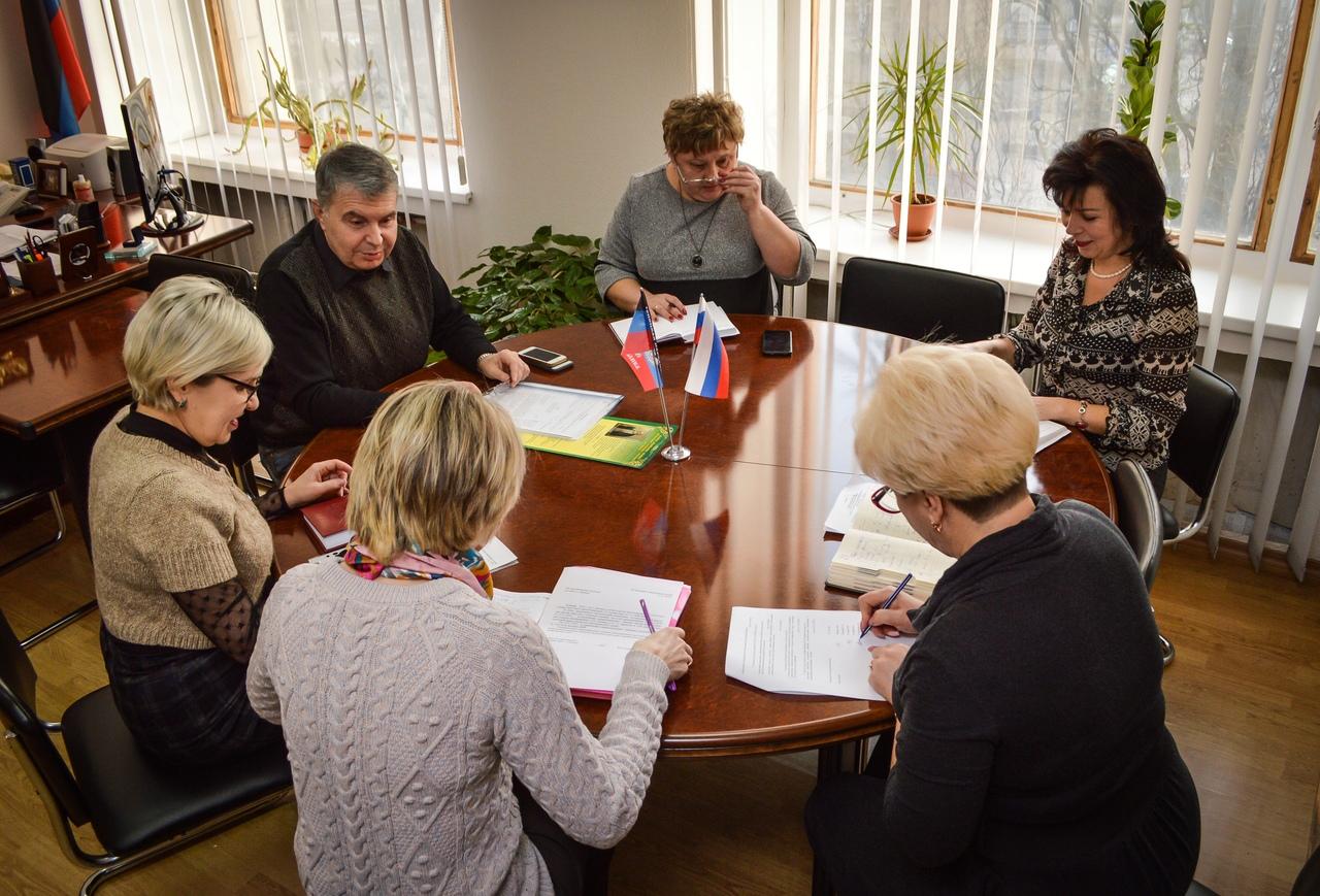 В администрации г. Донецка прошло очередное заседание Оперативного штаба по ликвидации неблагоприятной ситуации по кори
