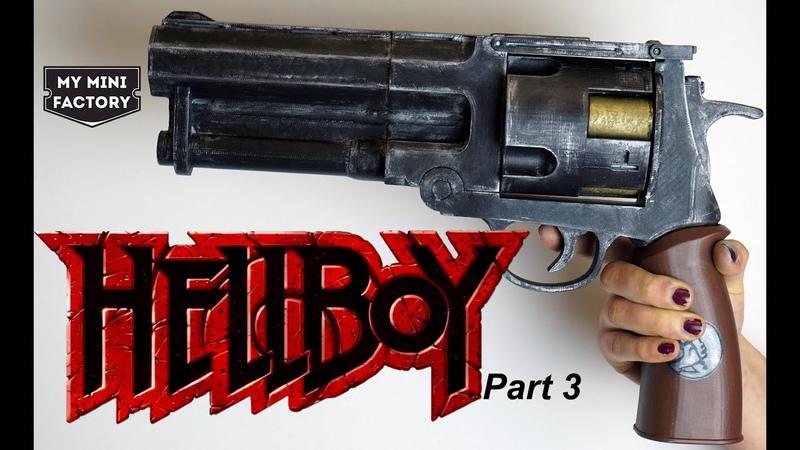 My Mini Factory Post-processing Tutorial – Episode 8 Brass Bullets for Hellboy's Good Samaritan Gun