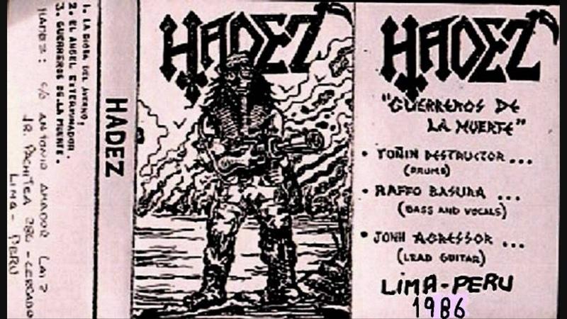 Hadez Angel Exterminador from demo Guerreros de la Muerte 1986