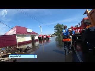 Искитимские волонтёры вернулись из затопленных городов Иркутской области