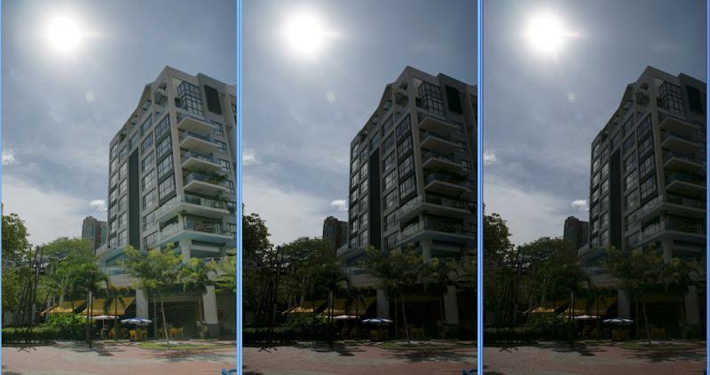 На примере камер Sony — первый снимок DRO+5, второй DRO+1 и первый DRO-Off(выключено)