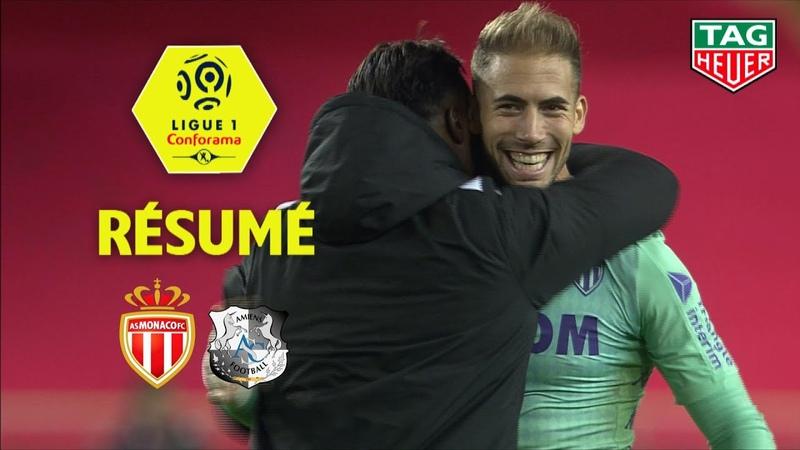 AS Monaco - Amiens SC ( 3-0 ) - Résumé - (ASM - ASC) 2019-20