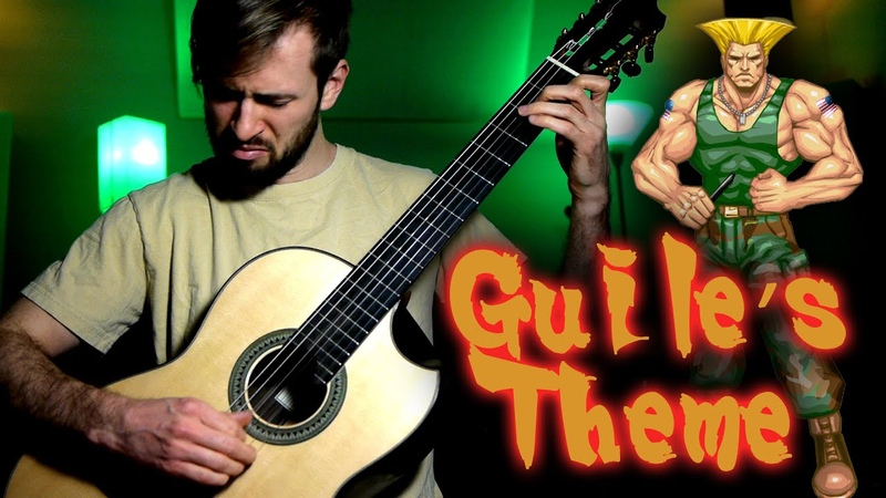 GUILE'S THEME on CLASSICAL GUITAR